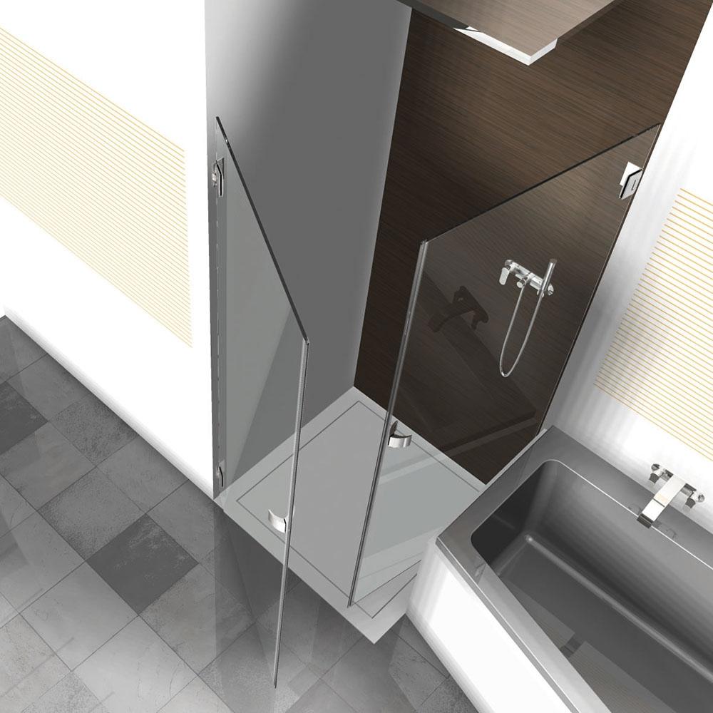 dusche neben der badewanne mit pontere 1 611. Black Bedroom Furniture Sets. Home Design Ideas
