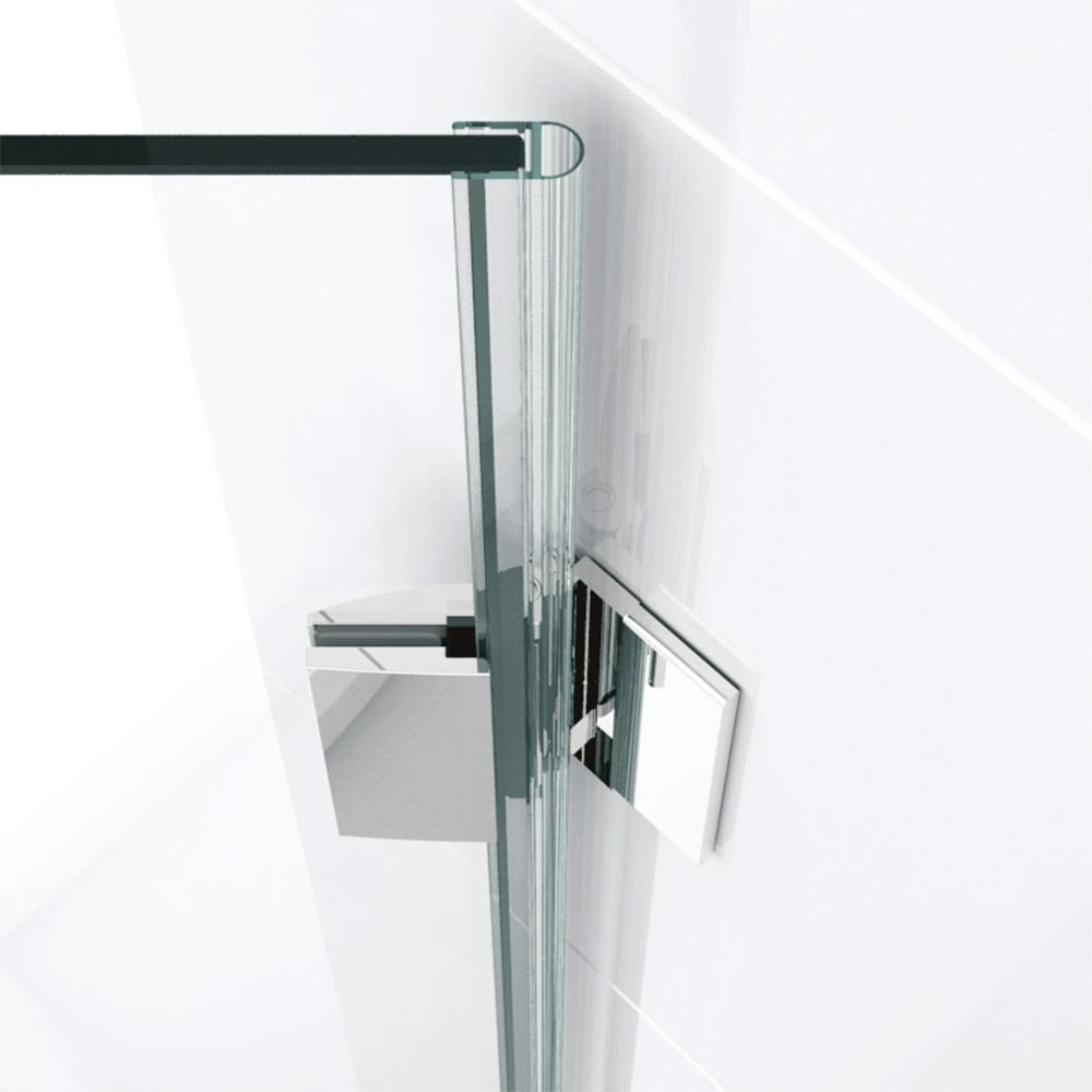zweifl gelige duscht r aus glas f r 5 eckl sung. Black Bedroom Furniture Sets. Home Design Ideas
