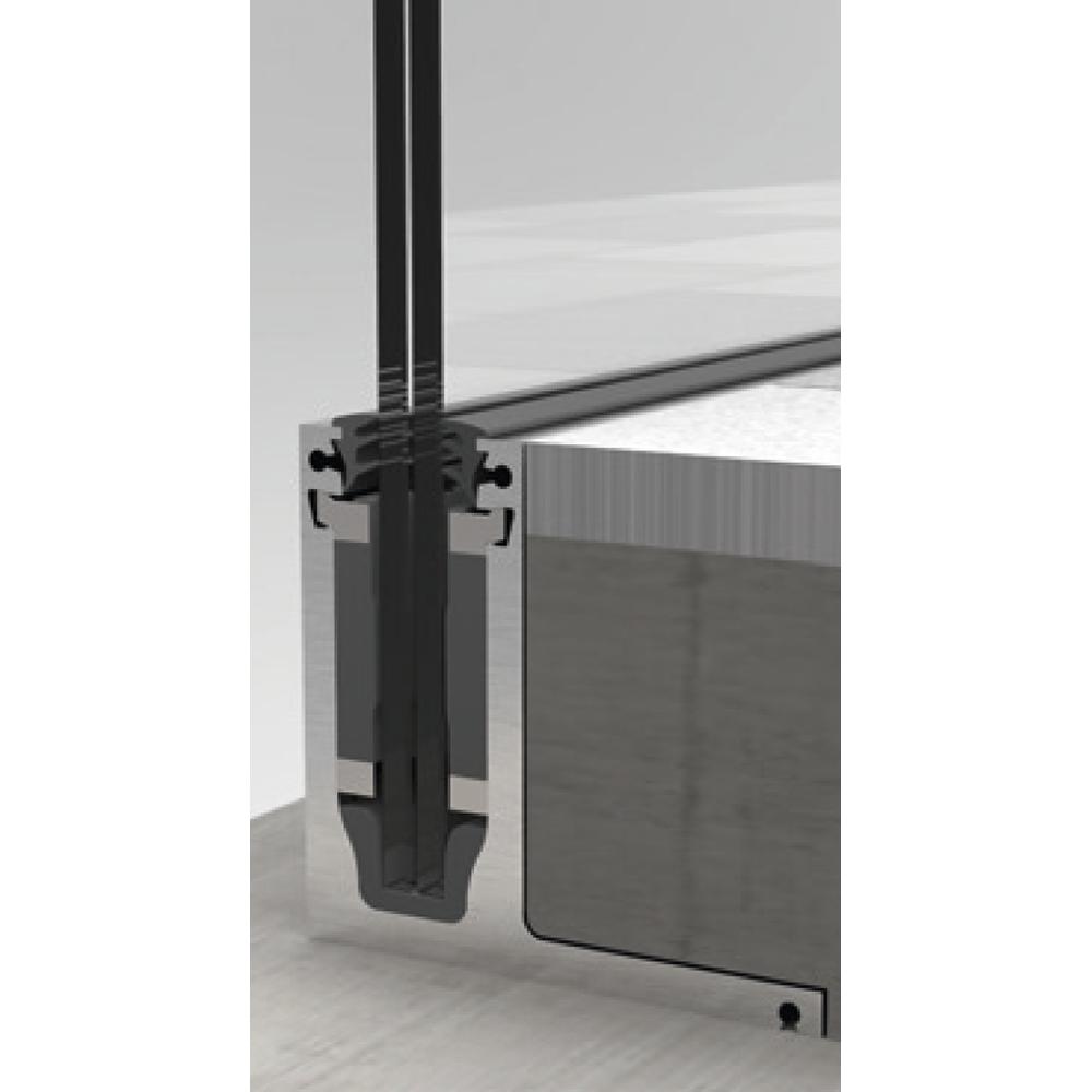 gel nderprofil cp 1400 f r aufsatzmontage an rohboden bestellen. Black Bedroom Furniture Sets. Home Design Ideas