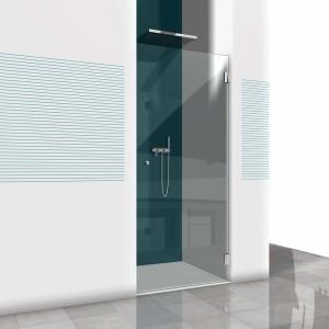 Glasdusche Farfalla 3-101, 1flg. Duschtür in einer Nische