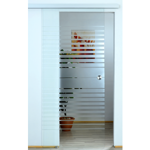 BASIC Glasschiebetür Streifenverlauf - Evoline Top