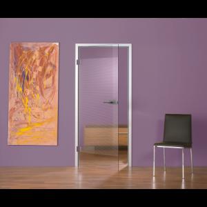 Glastür Horizon 82 - mit Siebdruck, maßgefertigt