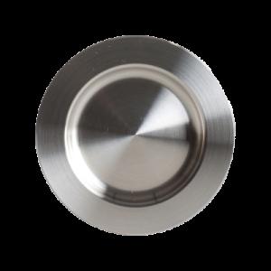 Griffmuschelpaar Edelstahl Durchmesser 60 oder 80 mm