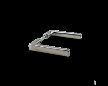 WSS Drueckergarnitur in kantiger Form