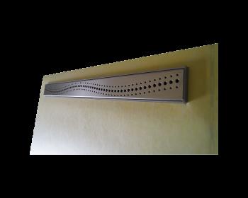 Duschblock zum Befliesen - geeignet fuer Gehhilfen - Detail Ablau