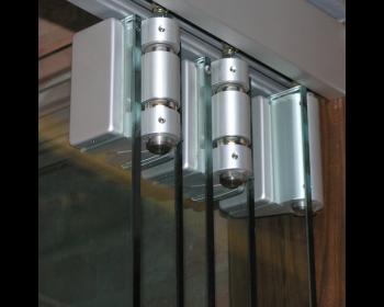 FSW Falttuerbeschlag Teufelbeschlag Reihe 500 - Detail der Gelenke oben