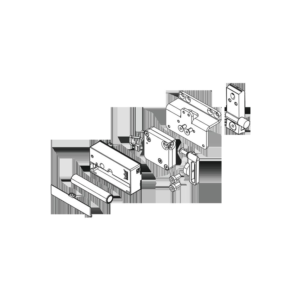 muto xl integrierte verriegelung f r schiebet ren. Black Bedroom Furniture Sets. Home Design Ideas