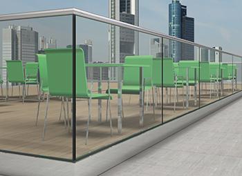 Fußboden Aus Glas ~ Glasgeländer balkonverglasungen glasundbeschlag.de