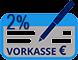 Vorkasse mit 2% Zahlrabatt bei Banküberweisung