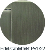 Pauli+Sohn Beschlagfarbe Edelstahleffekt (MSPVD22/ZNPVD22)