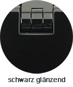 Pauli+Sohn Beschlagfarbe schwarz matt (ZN36/ZNPVD36/MS36/MSPVD36)