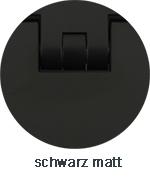 Pauli+Sohn Beschlagfarbe schwarz matt (ZN35/ZNPVD35/MS35/MSPVD35)