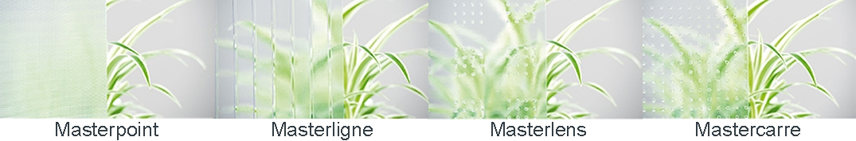 Masterpoint | Masterligne | Masterlens | Mastercarre